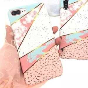 Accessories - LAST 1! NEW iPhone 7/8 Marble Splice Hard Case
